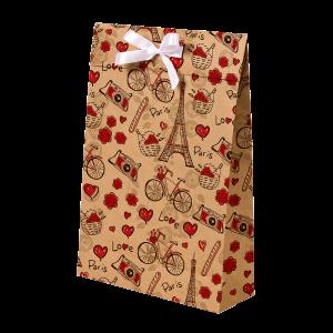 Premium Kraft – Parisiense Kraft – Sacola envelope com alça – M
