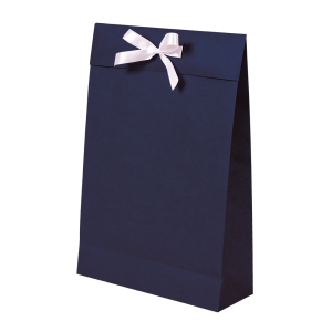 Premium Kraft – Kraft Azul – Sacola envelope com alça – M