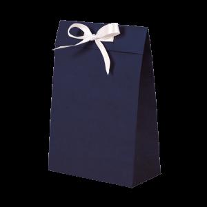 Premium Kraft – Kraft Azul – Sacola envelope com alça – P