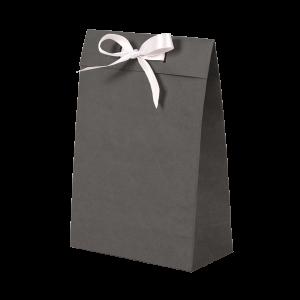 Premium Kraft – Kraft Cinza – Sacola envelope com alça – P