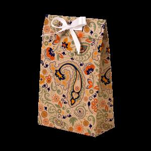 Premium Kraft – Floral Rústico – Sacola envelope com alça – PP