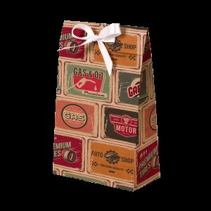 Premium Kraft – Placas Vintage – Sacola envelope com alça – PP