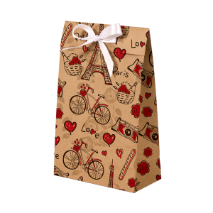 Premium Kraft – Parisiense Kraft – Sacola envelope com alça – PP
