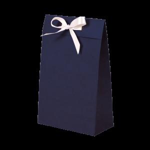 Premium Kraft – Kraft Azul – Sacola envelope com alça – PP