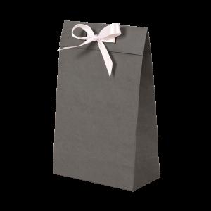 Premium Kraft – Kraft Cinza – Sacola envelope com alça – PP