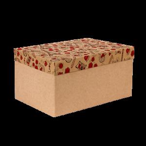 Premium Kraft – Parisiense Kraft – Caixa T/F montável semirrígida – G