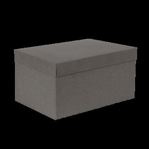 Premium Kraft – Kraft Cinza – Caixa T/F montável semirrígida – G