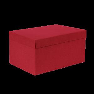 Premium Kraft – Kraft Vermelho – Caixa T/F montável semirrígida – G