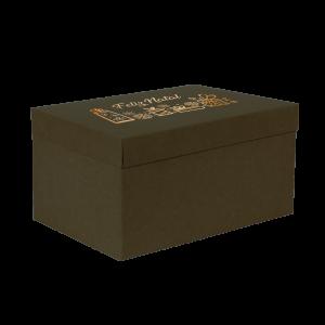 Premium Kraft – Verde Natal – Caixa T/F montável semirrígida – G