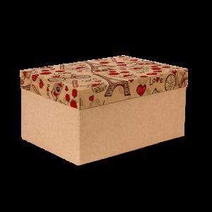 Premium Kraft – Parisiense Kraft – Caixa T/F montável semirrígida – M