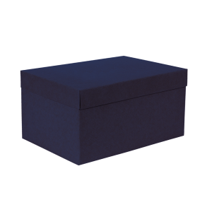 Premium Kraft – Kraft Azul – Caixa T/F montável semirrígida – M