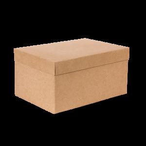 Premium Kraft – Kraft Natural – Caixa T/F montável semirrígida – M
