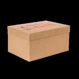Premium Kraft – Natural Natal – Caixa T/F montável semirrígida – M