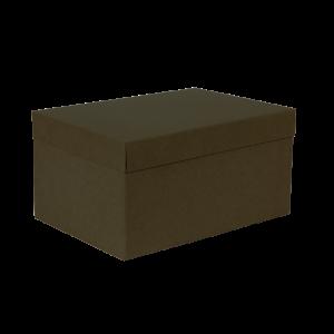 Premium Kraft – Kraft Verde – Caixa T/F montável semirrígida – M