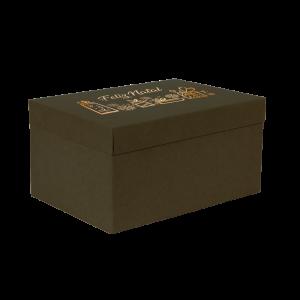 Premium Kraft – Verde Natal – Caixa T/F montável semirrígida – M