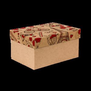 Premium Kraft – Parisiense Kraft – Caixa T/F montável semirrígida – P