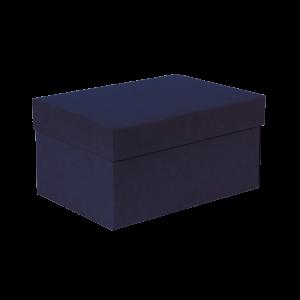 Premium Kraft – Kraft Azul – Caixa T/F montável semirrígida – P
