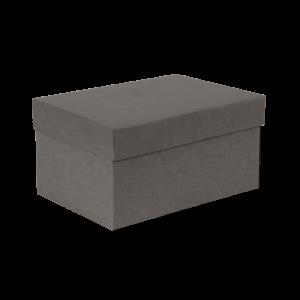 Premium Kraft – Kraft Cinza – Caixa T/F montável semirrígida – P