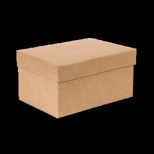 Premium Kraft – Kraft Natural – Caixa T/F montável semirrígida – P