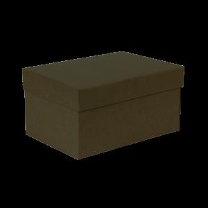 Premium Kraft – Kraft Verde – Caixa T/F montável semirrígida – P