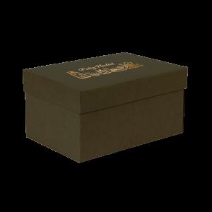 Premium Kraft – Verde Natal – Caixa T/F montável semirrígida – P