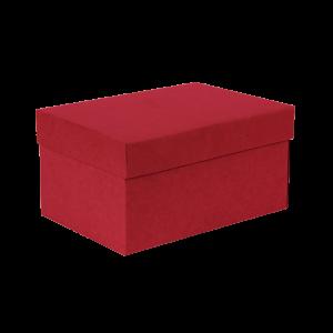 Premium Kraft – Kraft Vermelho – Caixa T/F montável semirrígida – P