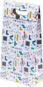 Sacola presenteável com aba – P – Games